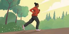 Νεαρή τρέχει