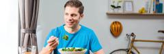 Ɔbarima bi rewe salad