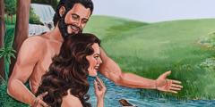 Adam və Həvva Eden bağında