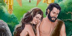 ადამი და ევა ედემის ბაღიდან გამოყარეს