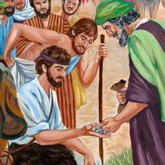 Ismáelita férfi kifizeti József testvéreit