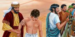 Josefs brødre sælger ham som træl