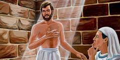 Josef i fängelset.