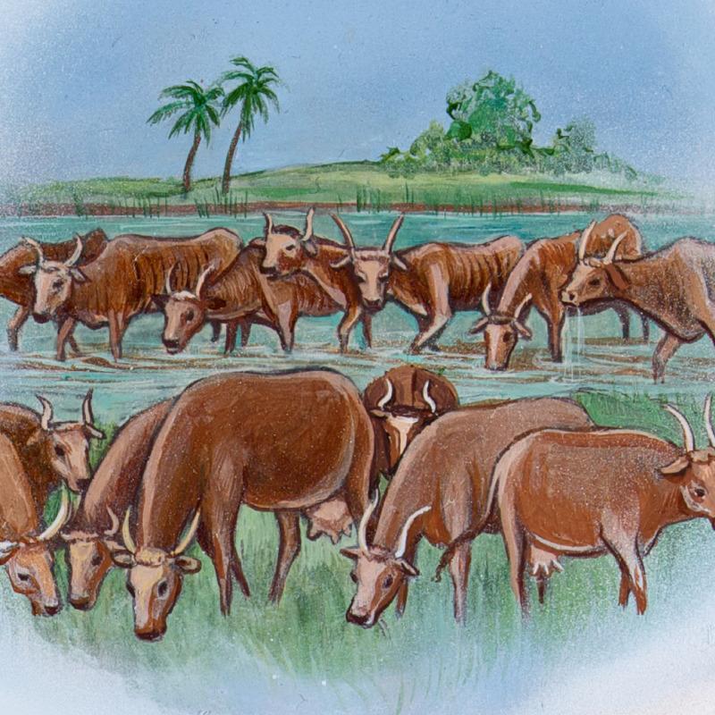 Seven fat cows, seven thin cows