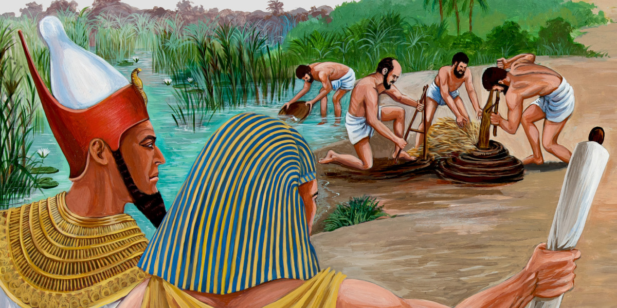 Die Israeliten leiden unter einem grausamen Pharao | Bibelgeschichten