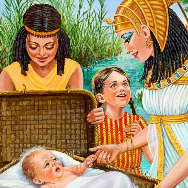 How Baby Moses Was Saved | Bible Story