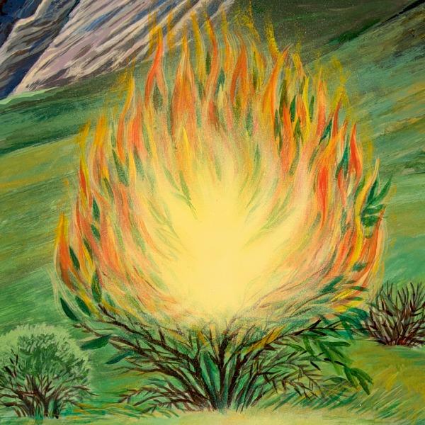 Moses und der brennende Busch | Bibelgeschichten