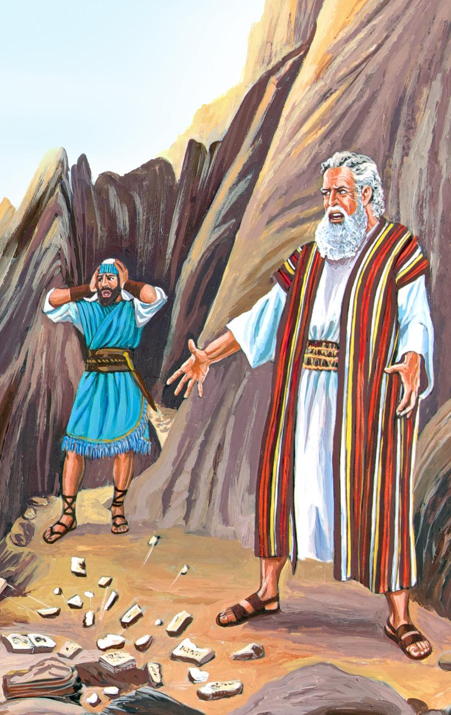 El Becerro De Oro Historia Bíblica