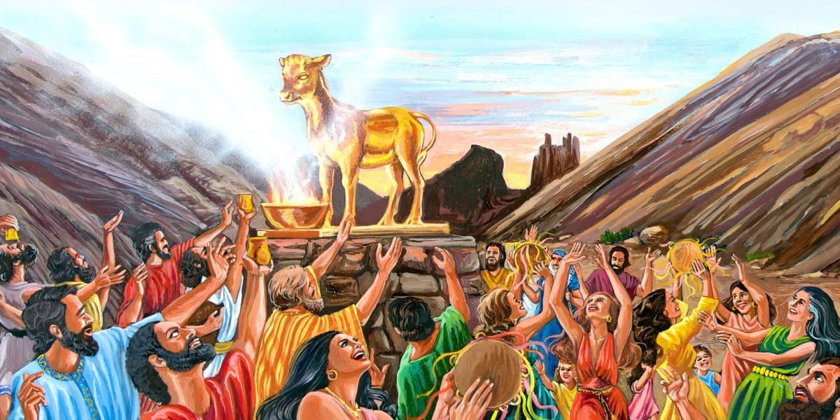 El becerro de oro | Historia bíblica