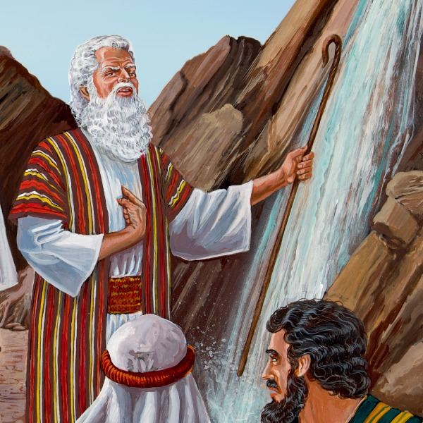 Moisés Hiere La Roca En Cades Historia Bíblica