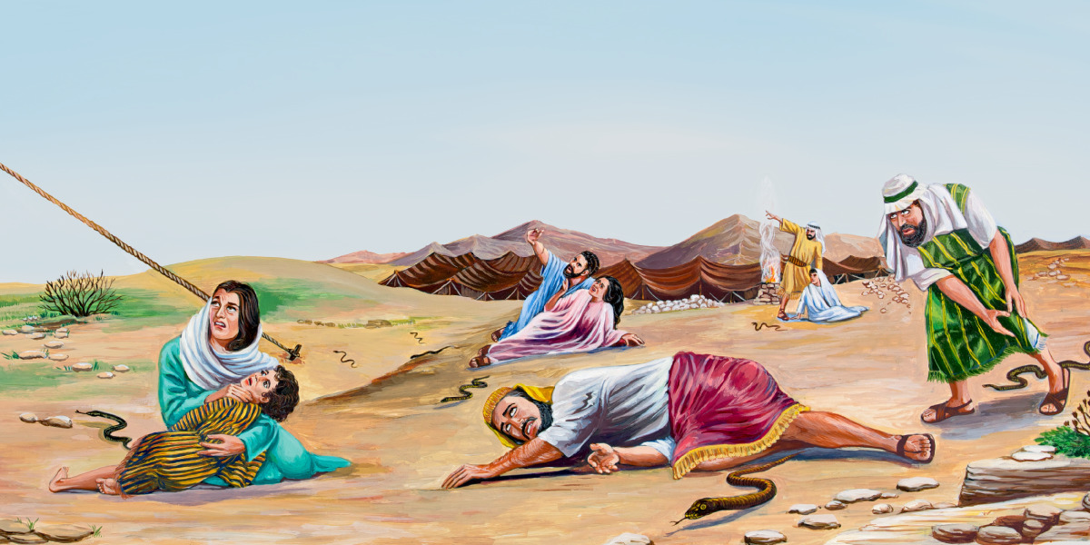 Moses And The Copper Snake Bible Story