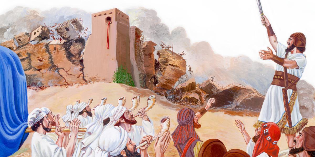 Giosuè e le mura di Gerico | Racconto biblico