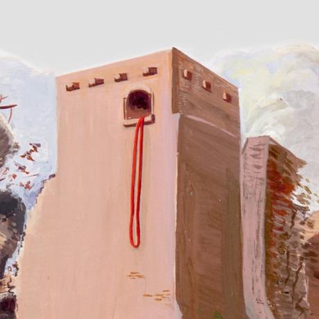 Los muros de Jericó caen, pero no la casa de Rahab donde está la cuerda escarlata colgando