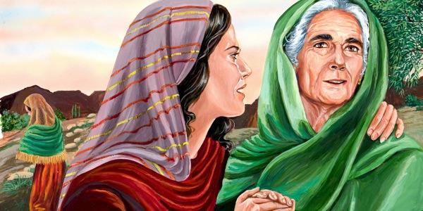 Ruth and Naomi   Bible Story