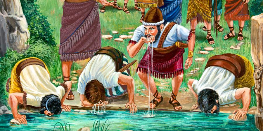 Gideon's Army of 300 Men | Bible Story