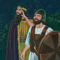 King Saul hears David's voice