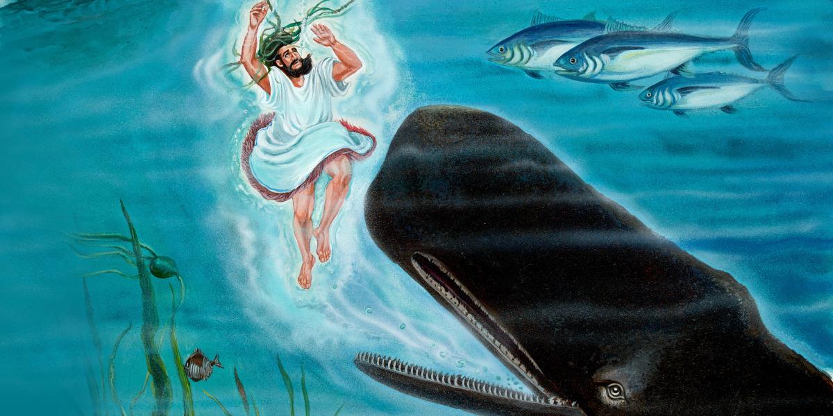 Jonah and the Big Fish | Bible Story