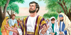 Ezra and the Israelites pray to Jehovah