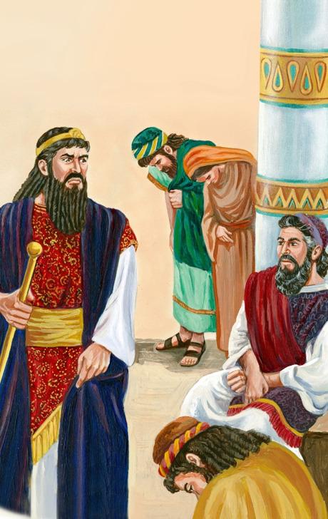 Hamã fica furioso por Mordecai não se curvar diante dele