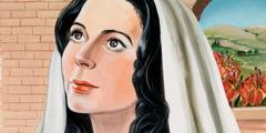 مريم تصغي الى الملاك جبرائيل