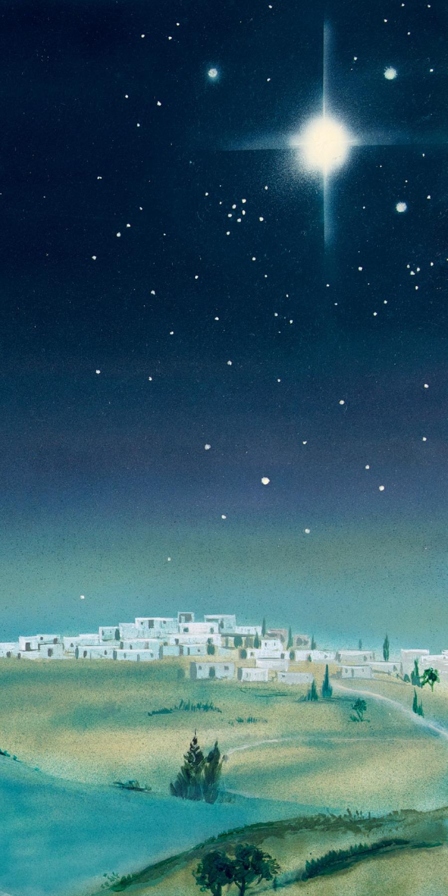 c4bf3421c Uma estrela sobre Belém — Os reis magos encontram o lugar onde Jesus ...
