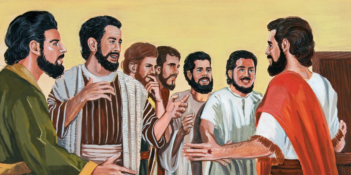 Jésus ressuscité apparaît à ses disciples