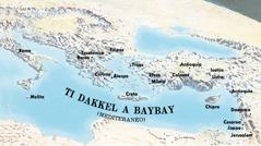 Mapa dagiti lugar a binisita ni Pablo ken Timoteo