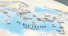 Mapa de los sitios que visitaron Pablo y Timoteo