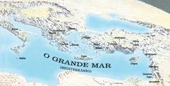 Mapa de lugares que Paulo e Timóteo visitaram