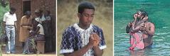 Kusopa kwauneneska kusazgapu kupharazga, kupemphera kwaku Yehova, kweniso kubatizika