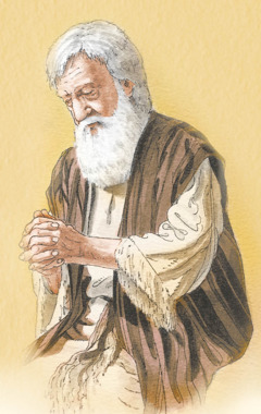 Abraham prays