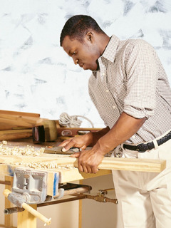 A carpenter