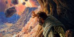 Elías observa una demostración del enorme poder del Dios todopoderoso