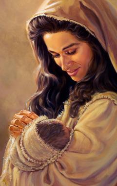 Witim loving kea wanfala mami karem and lukaotem gud baby bilong hem