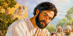 Jesus Kristus viser medfølelse