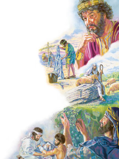 Solomon, Peter and John, Moses, Luke, and Amos