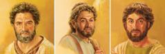 يعقوب (اخويوحنا)، اندراوس، وبطرس
