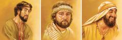 Judas Iscariote, Judas (qu'on appelle aussi Thaddée) et Simon