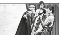 Kongen får den ubarmhjertige træl smidt i fængsel