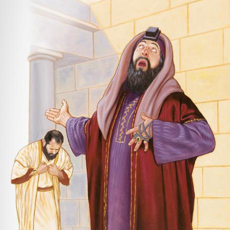 Un fariseo y un recaudador de impuestos orando