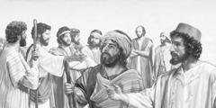 Jesus sender disiplene ut for å forkynne