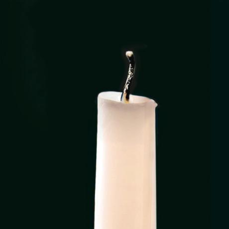 Κερί με σβηστή φλόγα