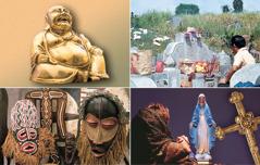Kuvien ja esi-isien palvontaa harjoitetaan eri puolilla maailmaa