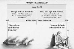 Babu: Kolo nsambwadi yovo kolo ya Zula, o lutangu lwa mvu 2.520 lwayantika muna lufwasu lwa Yerusaleme yo fokoka muna ngonde ya Okutoba ya mvu a 1914