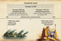 Koakon: Sounpar isuhwo, de rahnen mehn liki kan, kapatahda sang ohlahn Serusalem lao imwiseklahn pahr 2,520 nan October 1914