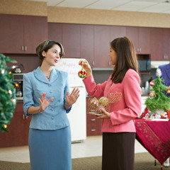 A Christian woman refusing to help decorate her workplace for a popular celebration