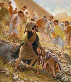 Aashwie Paulo kɛ Barnaba kɛmiije Antiokia ni yɔɔ Pisidia lɛ