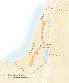 Mapa Kanaanu[Mapa na stronie 11]
