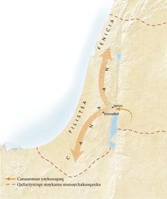 Canaan lawpa mapan[11kaq paginapi mapa]