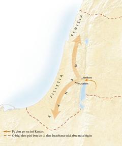 Karta fu a kondre Kanan[Karta na tapu bladzijde 11]